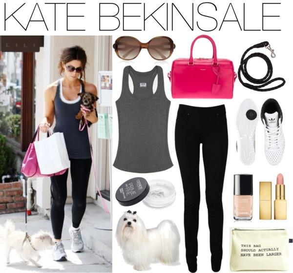 """""""Kate Bekinsale Gym Style"""" by joy-division-barcelona on Polyvore"""