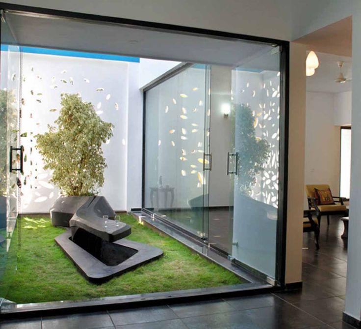 amazing-indoor-garden-design-inspiration Desain Taman Kecil Didalam Rumah Minimalis