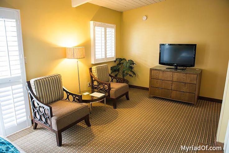 Old room sitting area - Inn at Morro Bay