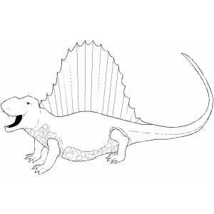 yelling spinosaurus coloring page - Spinosaurus Coloring Pages Printable