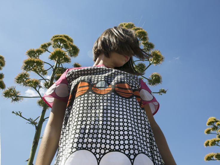 Lovely mini dotty dress by Klelia Andrali!