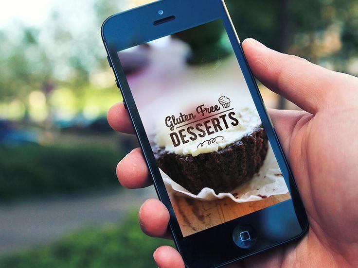 Dribbble - Gluten Free Desserts App live now! by chirag dave - uijunction
