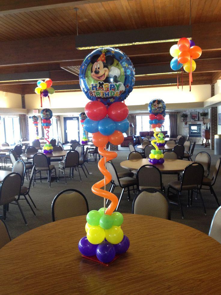 Happy Birthday Balloon Topiary Centerpiece 23 best