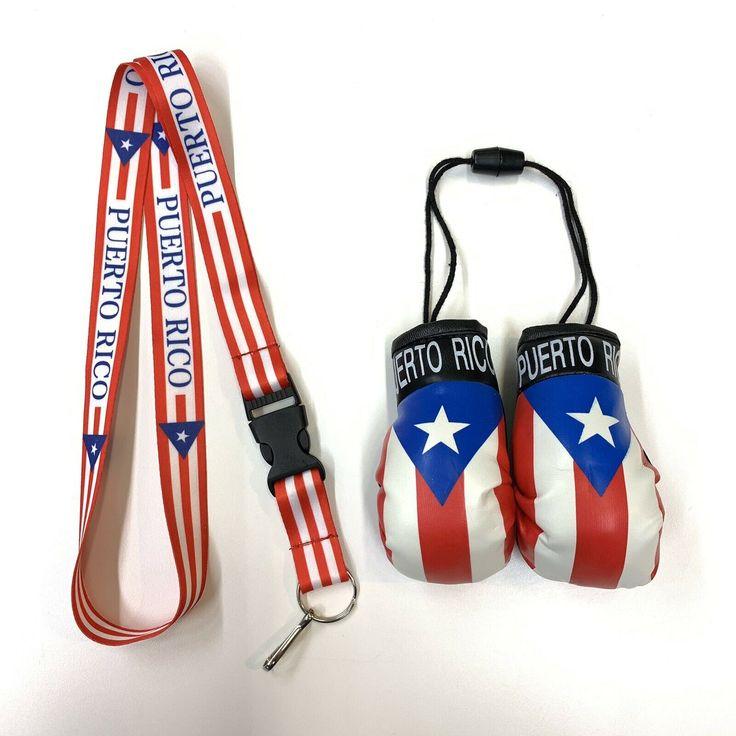 Mexico Mini Boxing Gloves And Mexico Lanyard key Chain