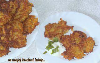 W Mojej Kuchni Lubię..: selerowo-ziemniaczane placki...