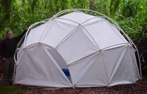 New Emergency and Disaster Relief Portable Geodesic Yurt Dome Tent Shelters and Tarp Fasteners