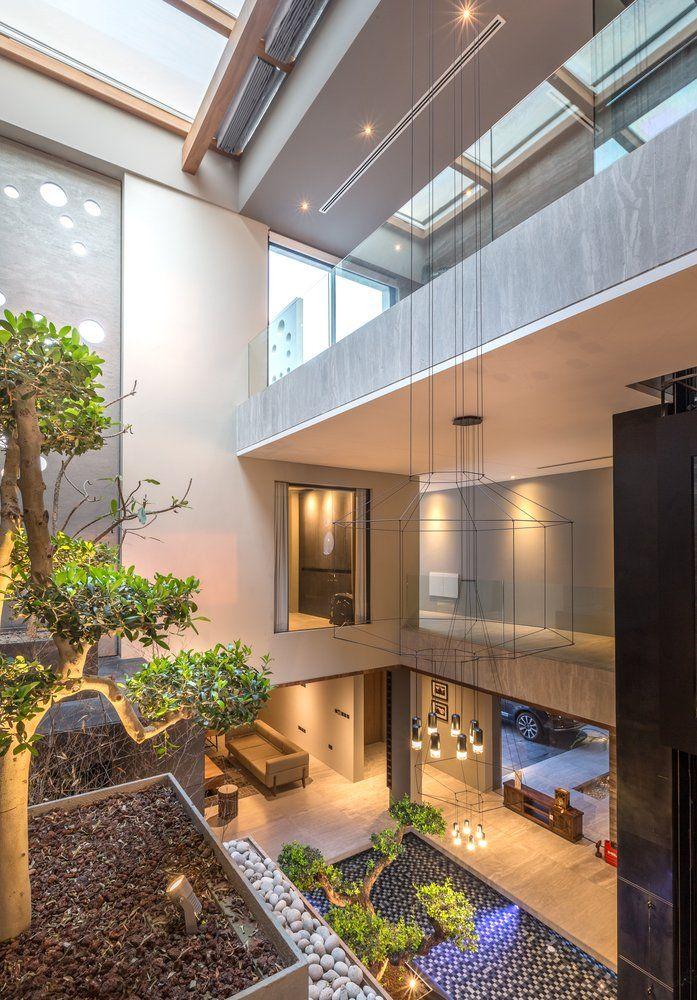 Multi Level Living Space Located In Amwaj Islands Bahrain 697 X 1000 Interior ArchitectureInterior DesignDecor