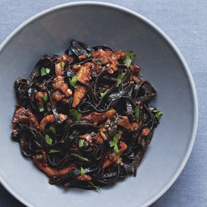 This octopus pasta recipe is a twist on a Greek island favourite. For the full recipe, click the image visit redonline.co.uk