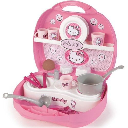 Hello Kitty Mini-Küche im Koffer