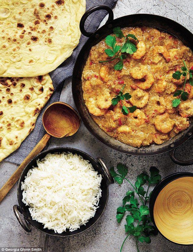 Mary Berry Prawn Korma curry