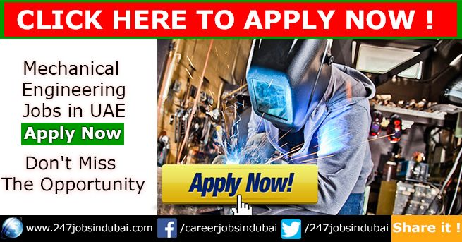 Latest Mechanical Engineering Jobs in UAE. You may design, construct, install and support components, machinery and tools.