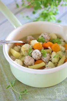 Anyżkowo: Zupa jarzynowa z mini pulpecikami
