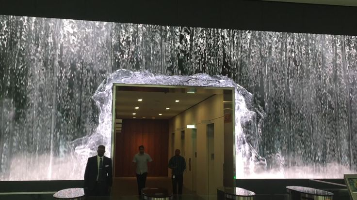 Salesforce Unveils Amazing Lobby Video Wall Display