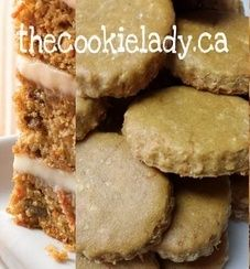 The Cookie Lady - Dog Biscuits - Flavors and Shapes Carrot Cake Cookies