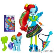 Кукла Радуга Дэш с пони и гитарой