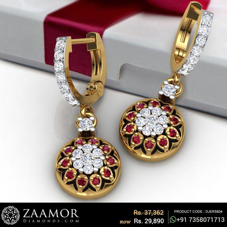 Avasyu Diamond Hoop Earrings #zaamordiamonds #zaamor #diamondearrings #diamondearring #earrings #earring #hoopearrings #hoopearring #diamondhoopearrings #jewellery #jewelry #jewellerydesign #earringsjewellery #earringsjewelry #earringdesign