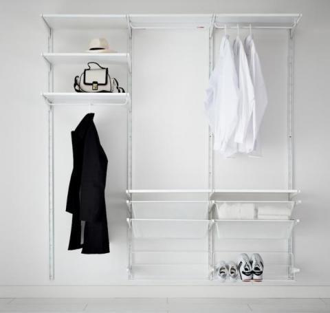 Clothes Storage System: Remodelista