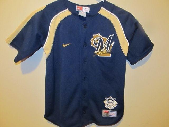 uk availability aa263 b1a74 Milwaukee Brewers jersey - NIKE Child size 7 #Nike ...