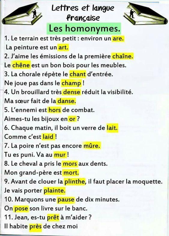 Épinglé sur French