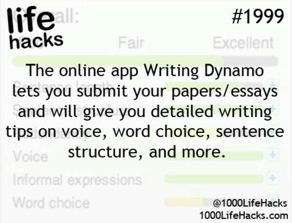 best life hacks images interesting facts life  writing dynamo app for essays and tips on improving them