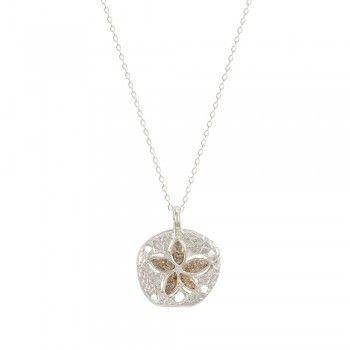 Petite Sand Dollar Necklace