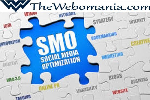 Social media optimization (SMO) can be one part of SEO—but it also contributes to all three ways people find you online.SMO has to do with social networks and their growing importance to business. Thewebomania is the best SMO Company in India. To know more please visit : www.thewebomania.com