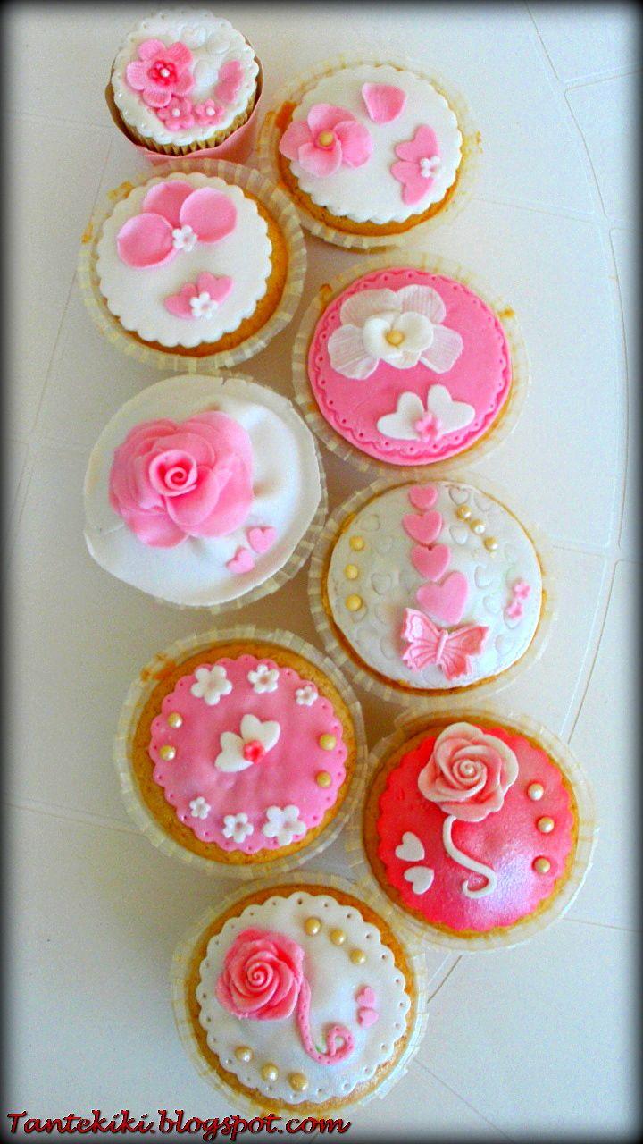 Wedding cupcakes Tantekiki.blogspot.com