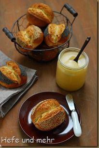 Mohn und Sesambrötchen (2)
