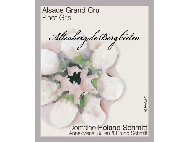 Domaine Roland Schmitt Pinot Gris Grand Cru Altenberg de Bergbieten
