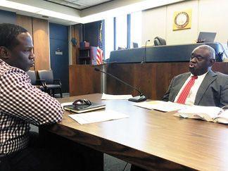 District judge defines domestic violence law