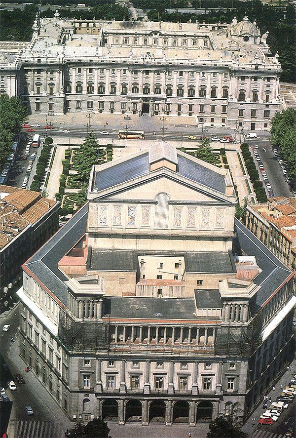 El Teatro Real, Madrid