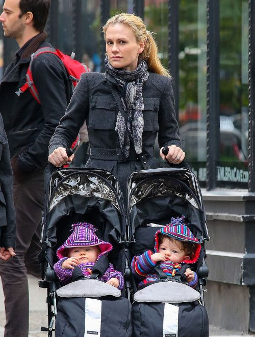 Anna Paquin and Hubby's Stephen Moyer twins
