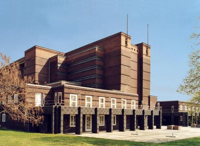 Stadthalle im Rotehornpark Magdeburg