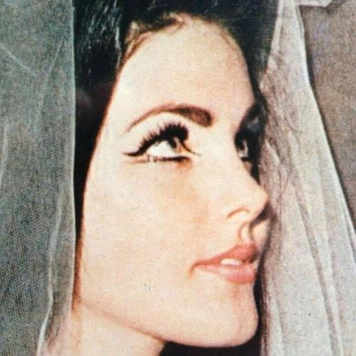 Priscilla Presley eye makeup