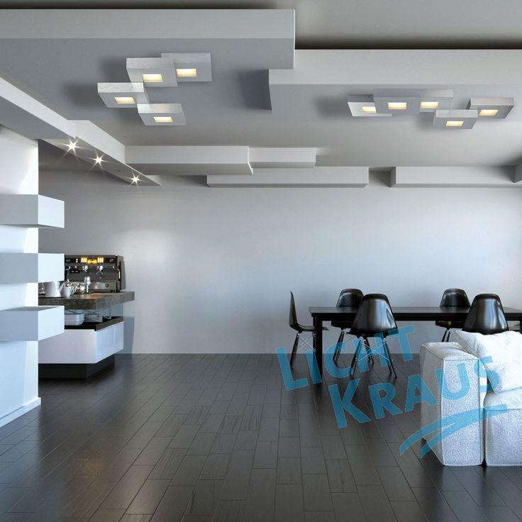 Bopp Leuchten - Cubus LED 3flg DL