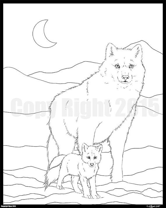 326 best coloring pages images on pinterest coloring pages wolf walk by cutiecollectable on etsy art ala carte on youtube even with her amazing ccuart Choice Image