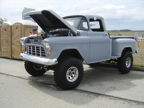 Killer 55 | Cars | Pinterest | Chevy, It is and 4x4