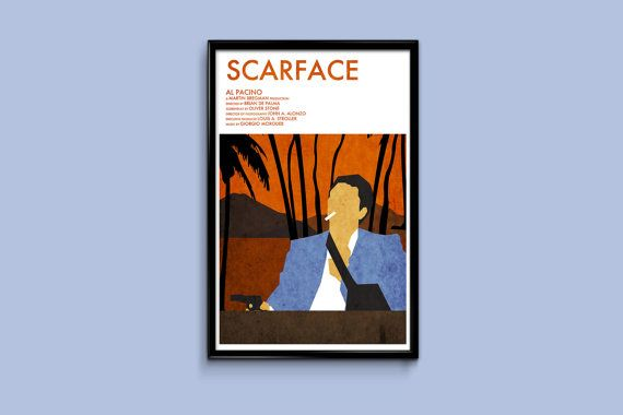 Scarface Movie Poster 11 x 17