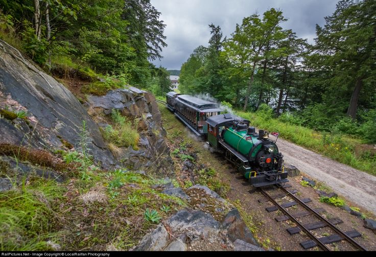 HLBR 2 Huntsville and Lake of Bays Railway Steam 0-4-0 at Huntsville, Ontario…