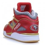 san francisco '49ers' sneaks? i oddly co-sign on this... but only with the right jeans and tee.