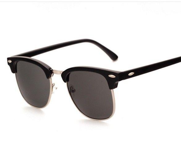 530da3eda06 J47 Half Metal High Quality Sunglasses Men Women Brand Designer Glasses  Mirror Sun Glasses Gafas Oculos