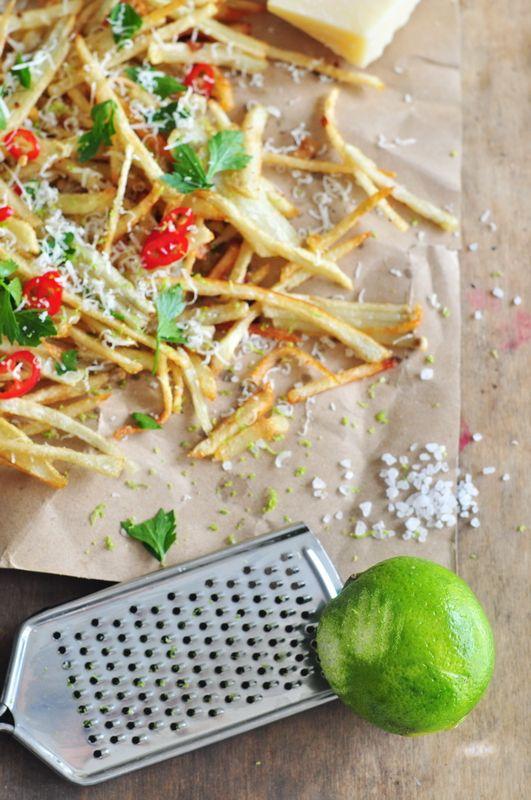 Domowe frytki z parmezanem lub mozzarellą | Make Cooking Easier