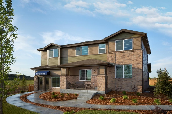 11 best images about trio signature design ryland homes for Two story model homes