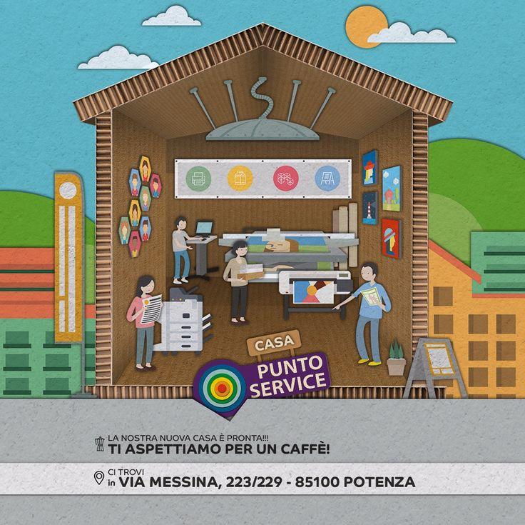 Ebbene sì ... la nuova #casa è pronta!!! Ti aspettiamo per un #caffè  #puntoservice #casanuovavitanuova #chetelodicoafare