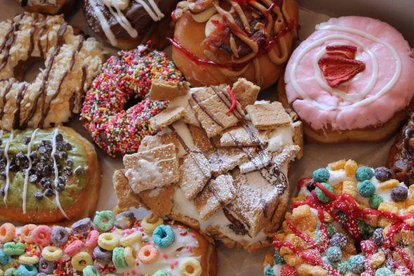 Psycho Donuts, original gourmet donuts, San Jose, CA. - www.psychodonuts.com