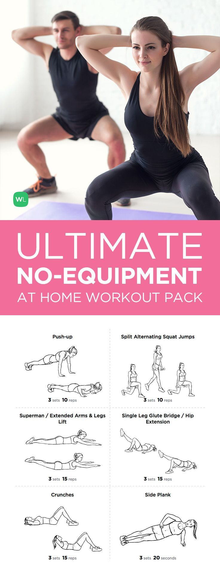 Ultimate at Home No Equipment Printable Workout Pack – visit https://workoutlabs.com/workout-packs/ultimate-at-home-no-equipment-workout-pack-for-men-women/ to download!