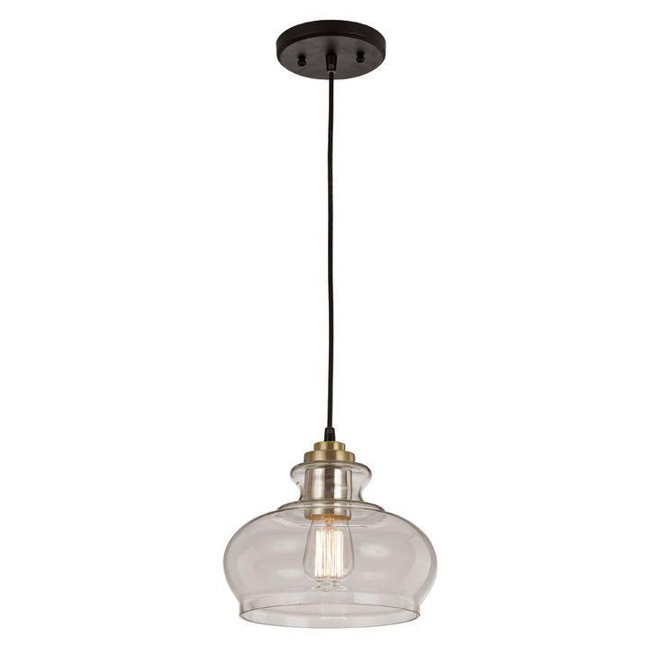 Trans Globe Lighting PND-100 Glass Drop Pendant Bel Air Lighting