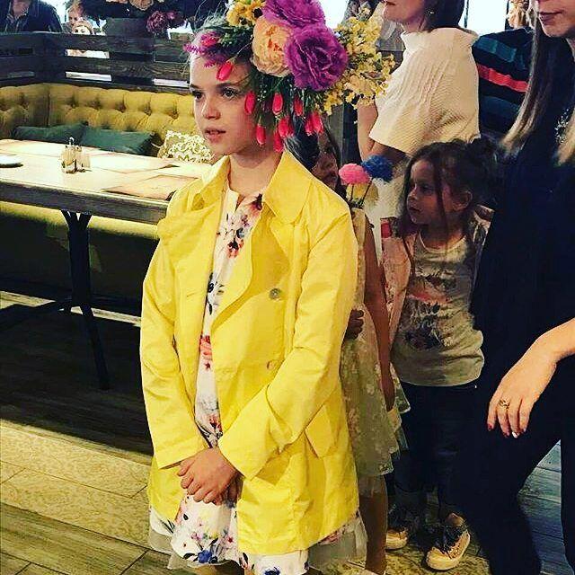 Девочка-весна на показе наших новых коллекций в Красноярске!    #silverspoon #Pulka_весна2017  #детскаямода #дети #весна #магазиндетскойодежды #подростки #новаяколлекция #инстадети #инстамама