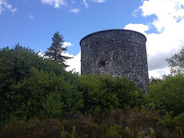 Martello Tower en el condado de Cork, Irlanda