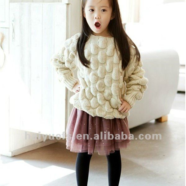 Autumn 2012 100% cotton sweater for kids,girl sweater